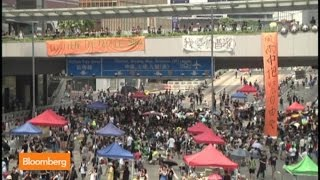 Hong Kong Protests Swell on Eve of China National Day