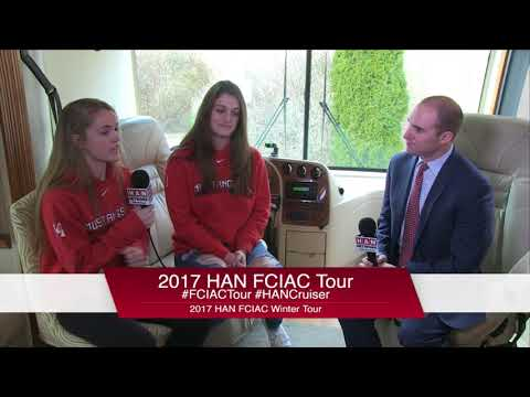 HAN Network FCIAC Winter Sports Tour 2017-18: Fairfield Warde High School Girls Basketball