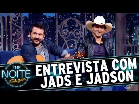 The Noite (28/09/16) - Entrevista com Jads e Jadson
