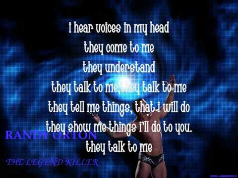 YouTube- Randy orton theme song - lyrics {read Discription}