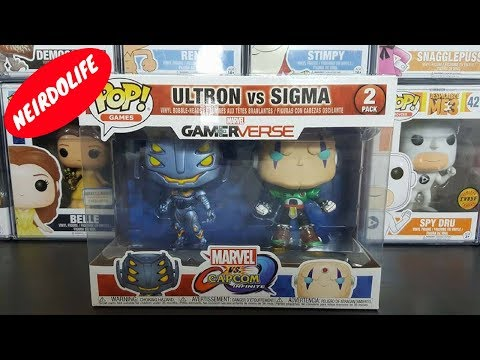 Funko POP Capcom Marvel ULTRON vs Sigma Pop Vinyl Figure Multi Pack