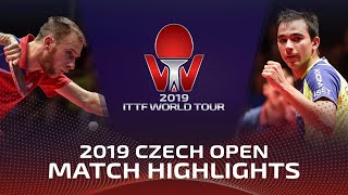 Александр Шибаев vs Hugo Calderano | Czech Open 2019 (1/4)