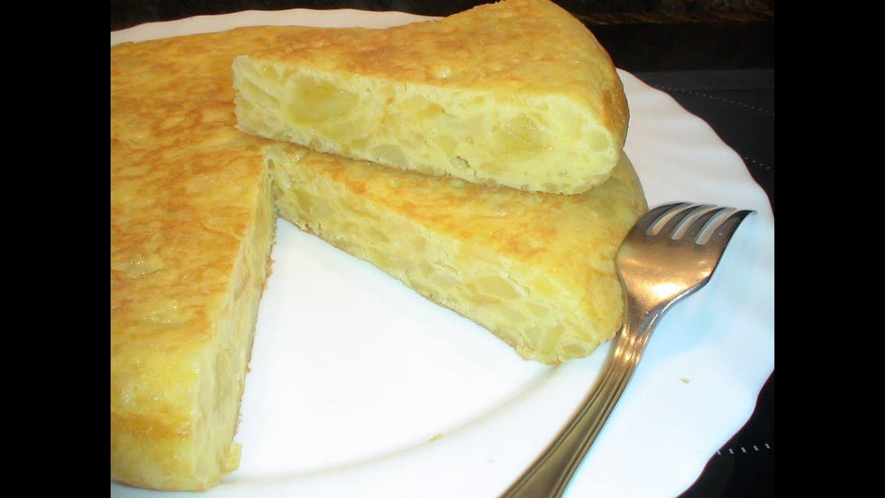 Cocina Española Facil   Receta Tortilla Espanola Facil Recetas De Cocina Paso A Paso
