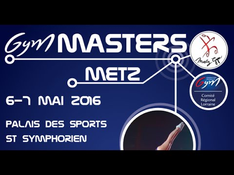 Le CPB TSA de Rennes aux Masters de Gym Acro.Metz 6 & 7 mai 2016