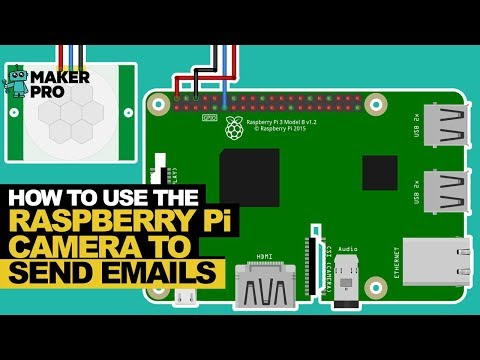 How to Use the Raspberry Pi Camera to Send Emails | Raspberry Pi
