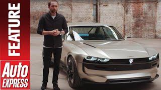 New Peugeot e-Legend concept - we get up close with Peugeot's stunning EV