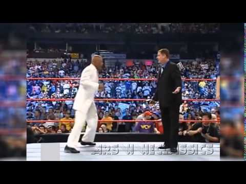 WWE Teddy Long Funny Dance With Tony Chimel
