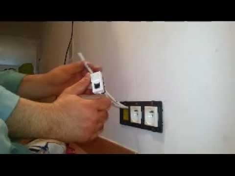 Comment Câbler Une Prise Rj45 Youtube