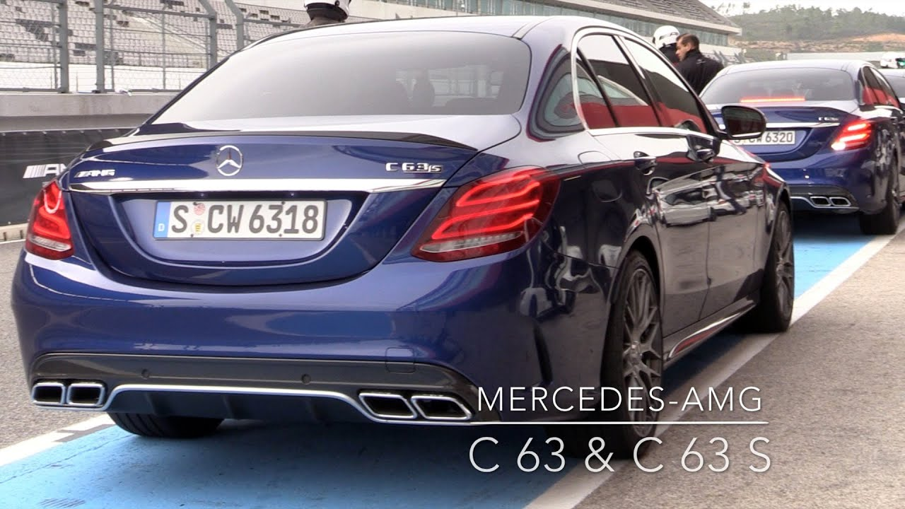 2015 mercedes amg c63 c63s review with racetrack youtube. Black Bedroom Furniture Sets. Home Design Ideas