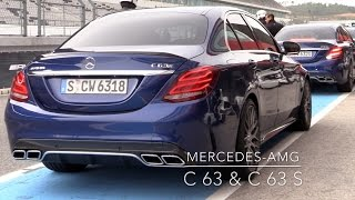 2015 Mercedes-AMG C63 & C63S Review (with Racetrack!)