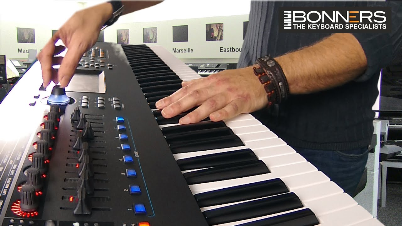 Yamaha Montage Sound Guide - Synth Sounds Demo