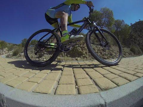 Ciclismo montaña sierra Navela y descenso MTB Scalextric en Blanca y Ulea