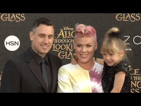 """Pink & Carey Hart """"Alice Through the Looking Glass"""" Premiere Red Carpet"""