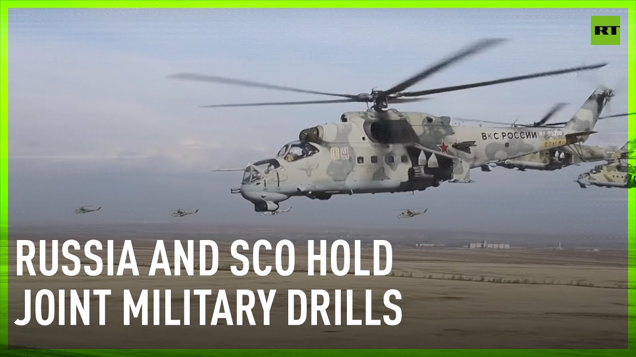 Download Russia and SCO hold joint military drills