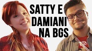 Youtubers Satty e Damiani apresentam #ArenaAmericanas da BGS