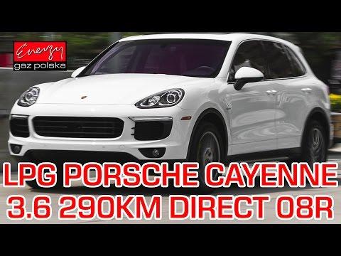 Montaż LPG Porsche Cayenne z 3.6 290KM 2008r w Energy Gaz Polska na gaz PRINS VSI-2.0 DIRECT