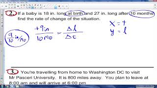 Math 8 - U4.2a - The Slope of a line
