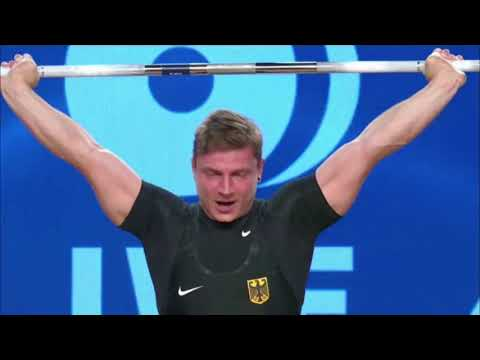 Men's 77 kg A Session Snatch - 2017 IWF Weightlifting World Championships (WWC)