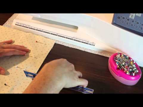 How To Pin Your Fabric For Sewing