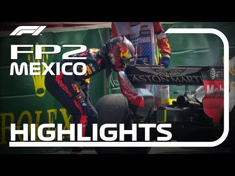 2018 Mexican Grand Prix: FP2 Highlights