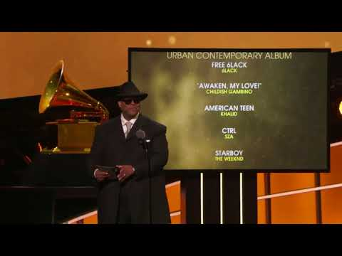 The Weeknd Won Best Urban Contemporary Album For 'Starboy' | 60th Annual Grammy Awards
