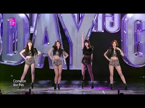 【TVPP】Girl's Day - Female President, 걸스데이 - 여자 대통령 @ Incheon Korean Music Wave Live