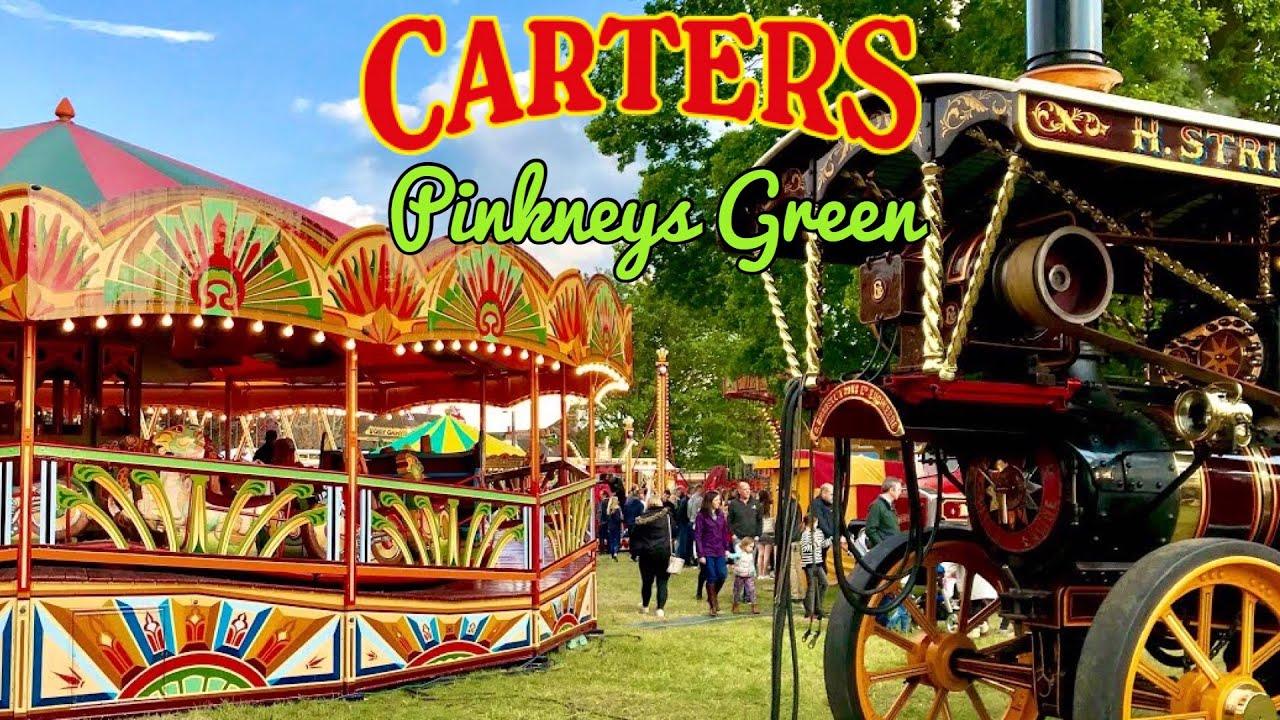 Carters Steam Fair Pinkneys Green Vlog 11th May 2019 Youtube