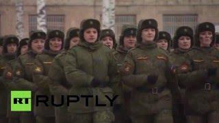 В России впервые прошел конкурс для женщин-военнослужащих «Макияж под камуфляж»