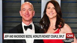 Jeff and MacKenzie Bezos announce split