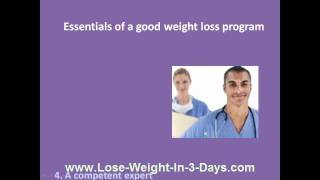 How To Choose Free Diet Weight Loss Program