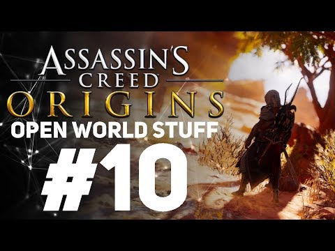 Assassin's Creed Origins [LIVE/PC] - New Game + Open World Stuff #10