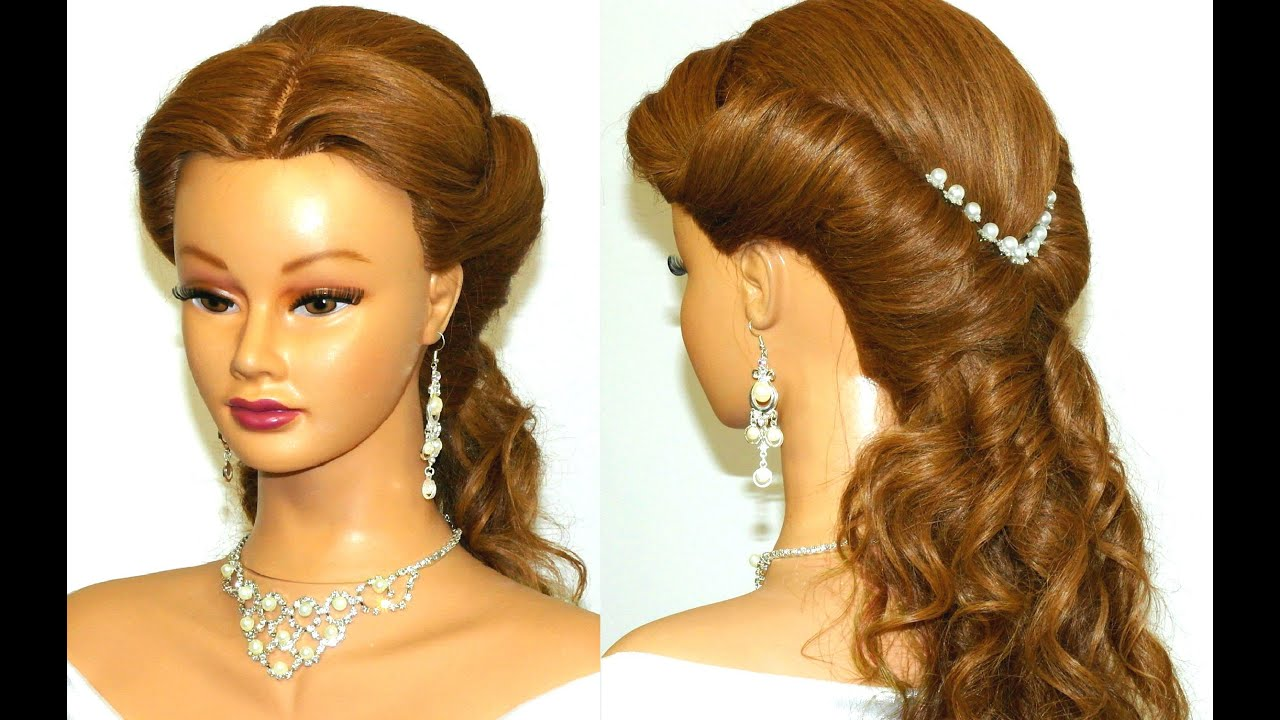 Wedding Prom Hairstyle For Long Hair.
