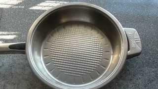 Сковорода с нержавеющей стали. Как очистить сковороду от сильных загрязнений.