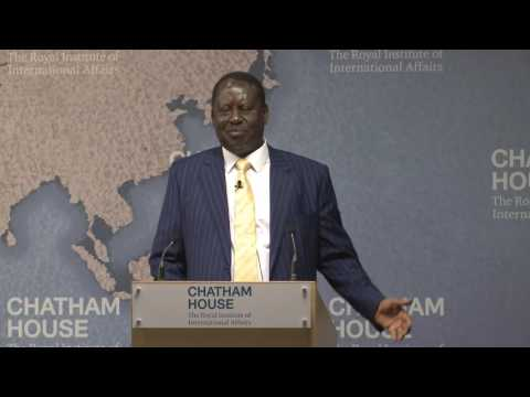 Rt Hon Raila Odinga: The Importance of Democracy in Africa: Kenya's Experience