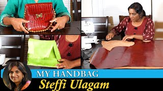 Making Handbag Vlog - Steffi Ulagam | Kadi Joke Giveaway Winners