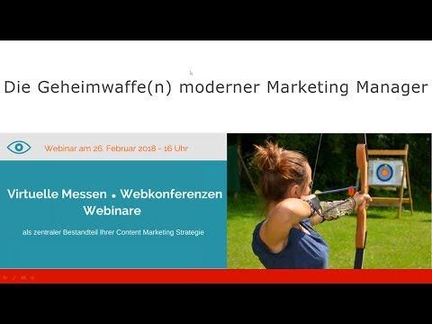 Geheimwaffen moderner Marketing Manager