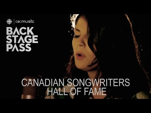 Canadian writers Hall of Fame  CBC Music Backstage Pass