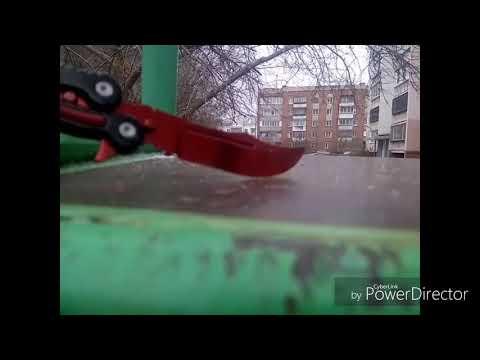 Обзор на нож бабочку(убийство)
