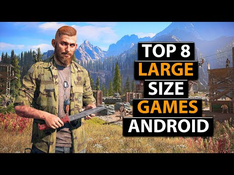 TOP 8 BIG SIZE HIGH GRAPHICS GAMES FOR ANDROID 2020 !!