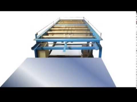 Схема линии для производства профнастила