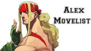 Street Fighter III: 3rd Strike - Alex Move List