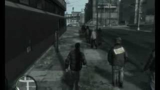 GTA IV MINI Gameplay on GF 8400GS