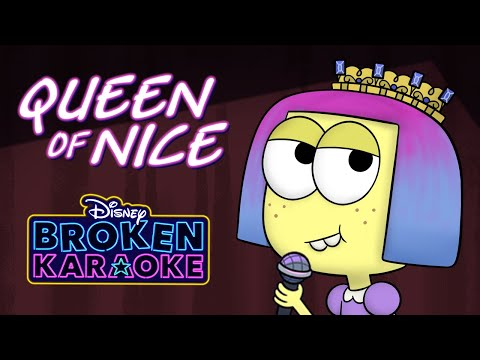Queen of Mean (Parody) 👑 | Broken Karaoke | Big City Greens | Disney Channel