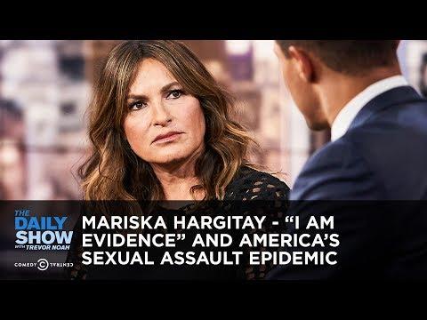 "Mariska Hargitay - ""I Am Evidence"" and America's Sexual Assault Epidemic | The Daily Show"