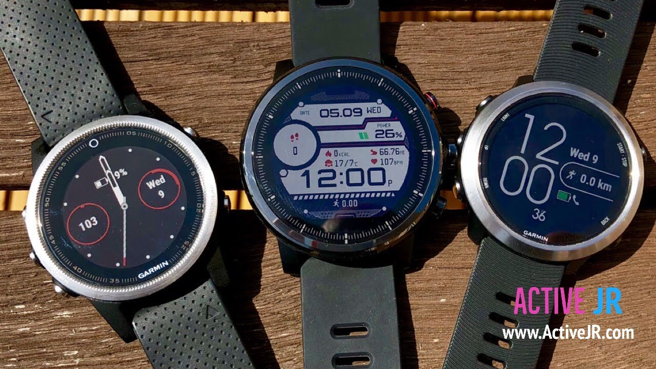 Amazfit Stratos Vs Garmin Forerunner 645 Vs Fenix 5 Detailed