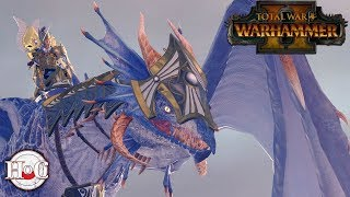 Cold One to a Dragon Fight - Total War Warhammer 2 - Online Battle 86