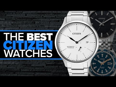12 Citizen Watches You May Not Have Heard Of (Automatics, Eco-Drive, & More)