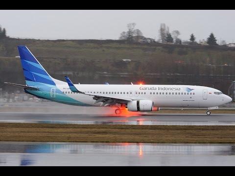 Prepar 3D   Boeing 737 - Garuda Indonesia   Intl. Airport Soekarno-Hatta/Jakarta (WIII)