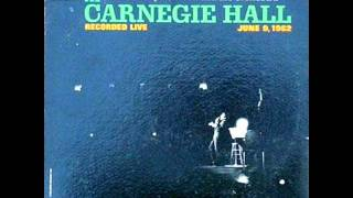 Tony Bennett At Carnegie Hall, Part-I, Side-2 on 1962 Mono Columbia LP.