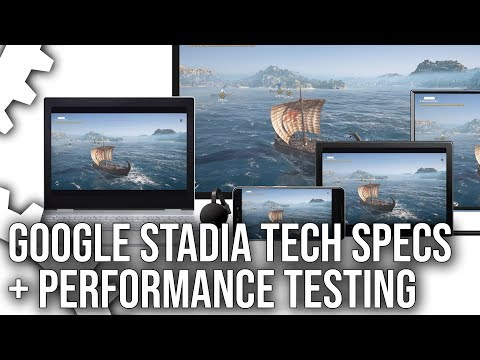 Google Stadia Specs Analysis + Exclusive Performance Testing